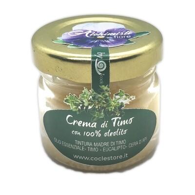 CREMA DI TIMO - con 100% Oleolito - 30ml