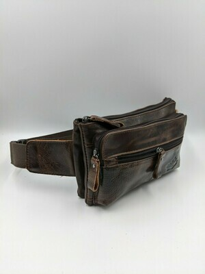 Мужская кожаная сумка zznick 2790