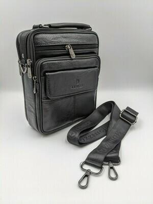 Мужская кожаная сумка zznick 28102