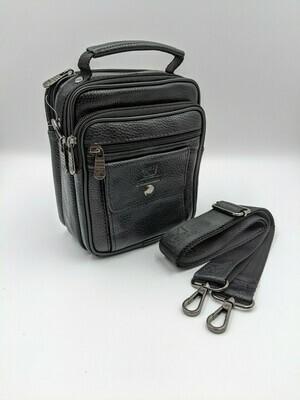 Мужская кожаная сумка zznick 8718