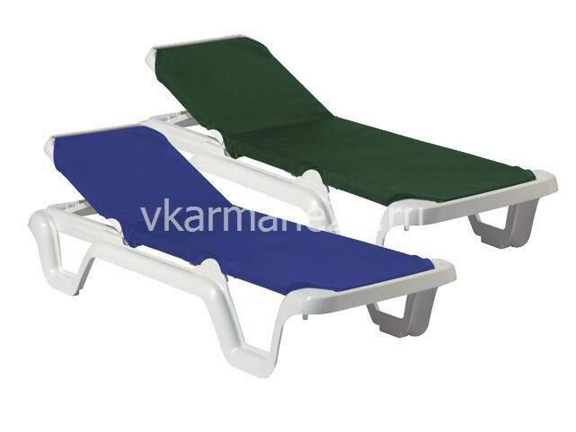 Пляжный лежак