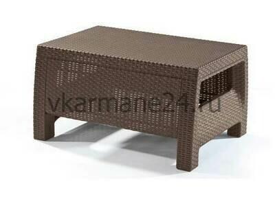 Столик из ротанга Yalta коричневый