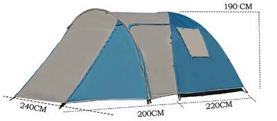 Четырёхместная Туристическая палатка купить Coolwalk PLUS 5224