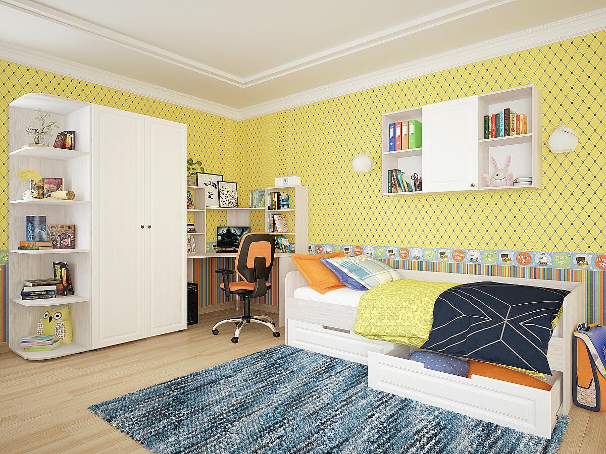 Купить детскую кровать Прага 04