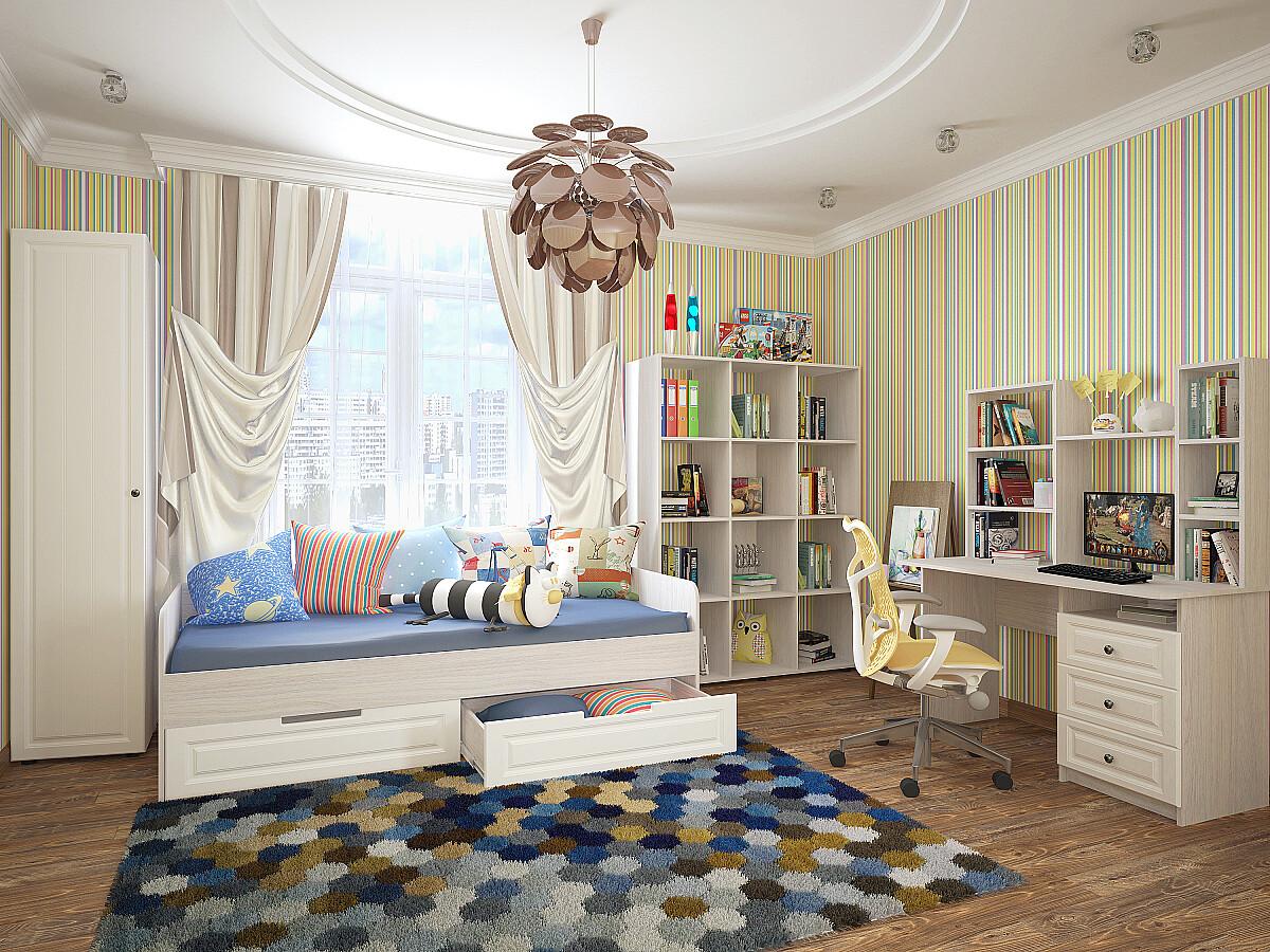 Купить детскую кровать Прага 02