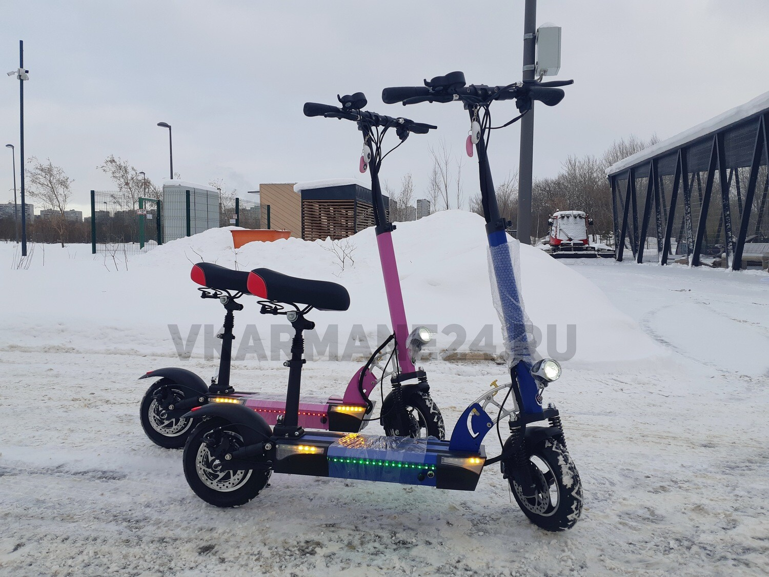 Электросамокат Electric Scooter V2