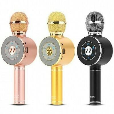 Беспроводной микрофон караоке WS668