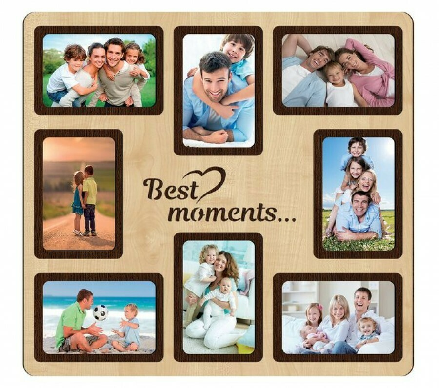Фоторамка-коллаж Best moments