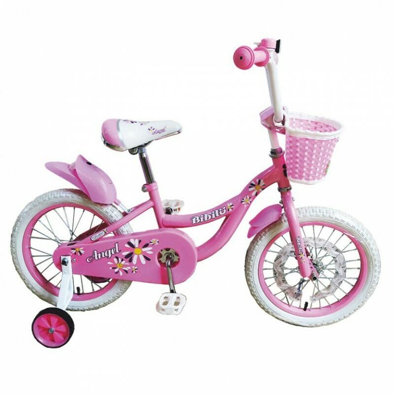 Велосипед 20 BIBITU ANGEL со светодиодами