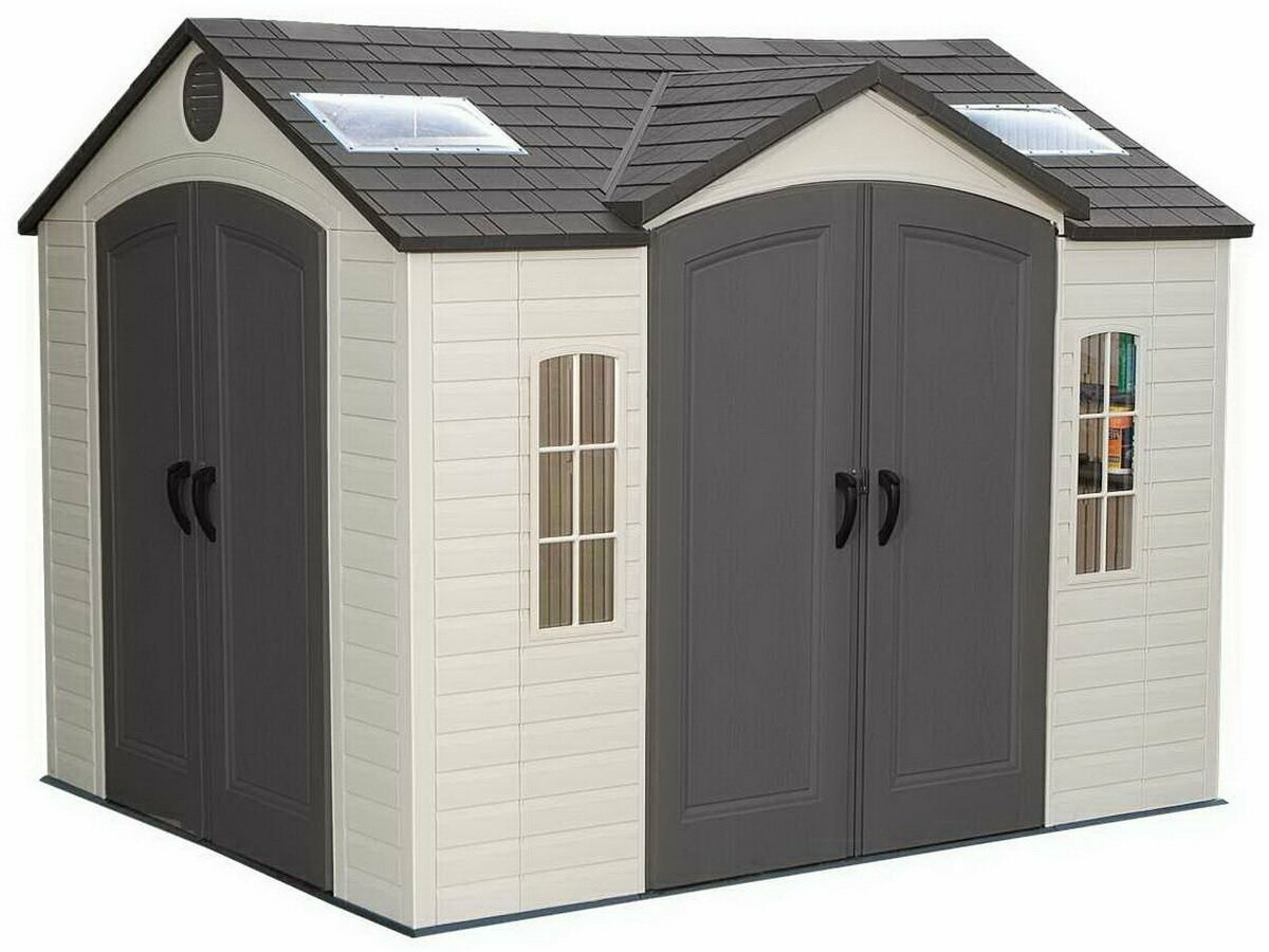 Высокопрочный сарай-гараж LifeTime 8x10