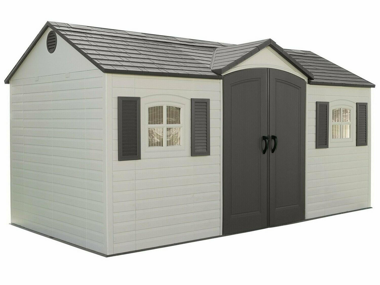 Высокопрочный сарай-гараж LifeTime 8x15