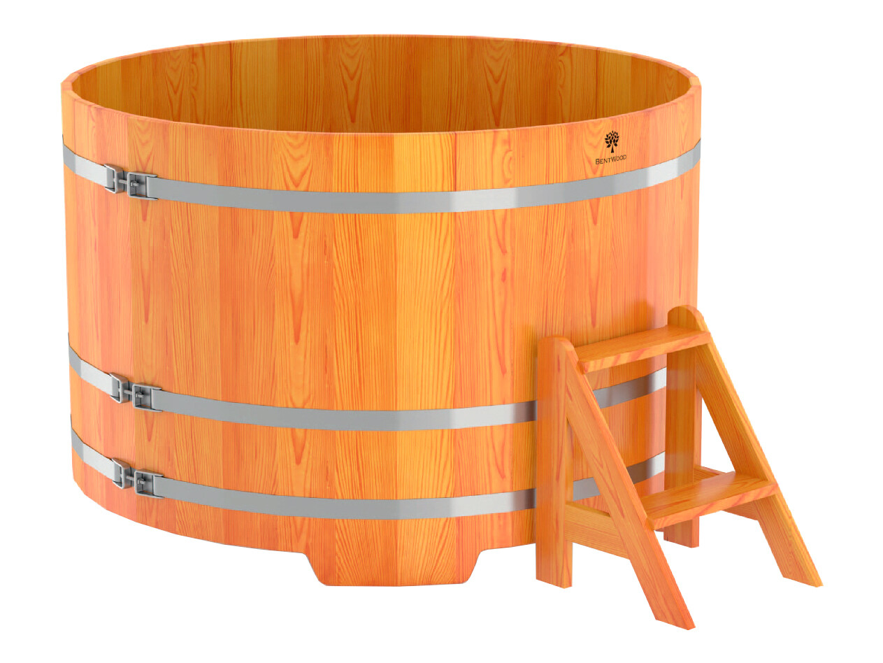 Деревянная круглая купель