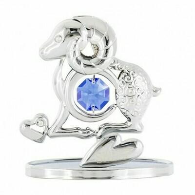 Фигурка Овечка серебро