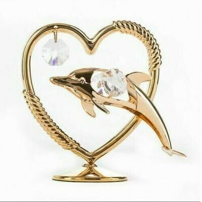 Фигурка Дельфин с сердцем