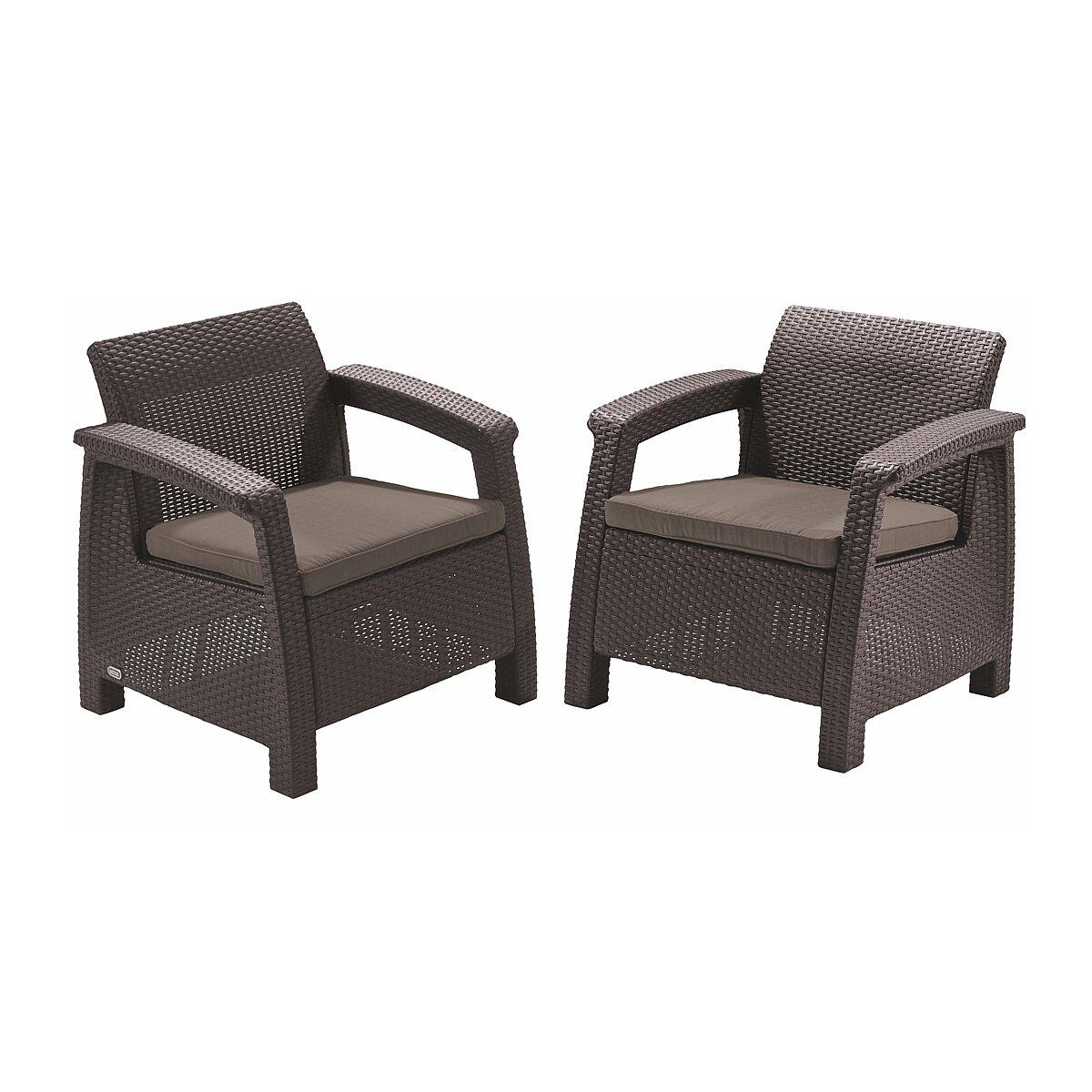 Кресла садовые brown