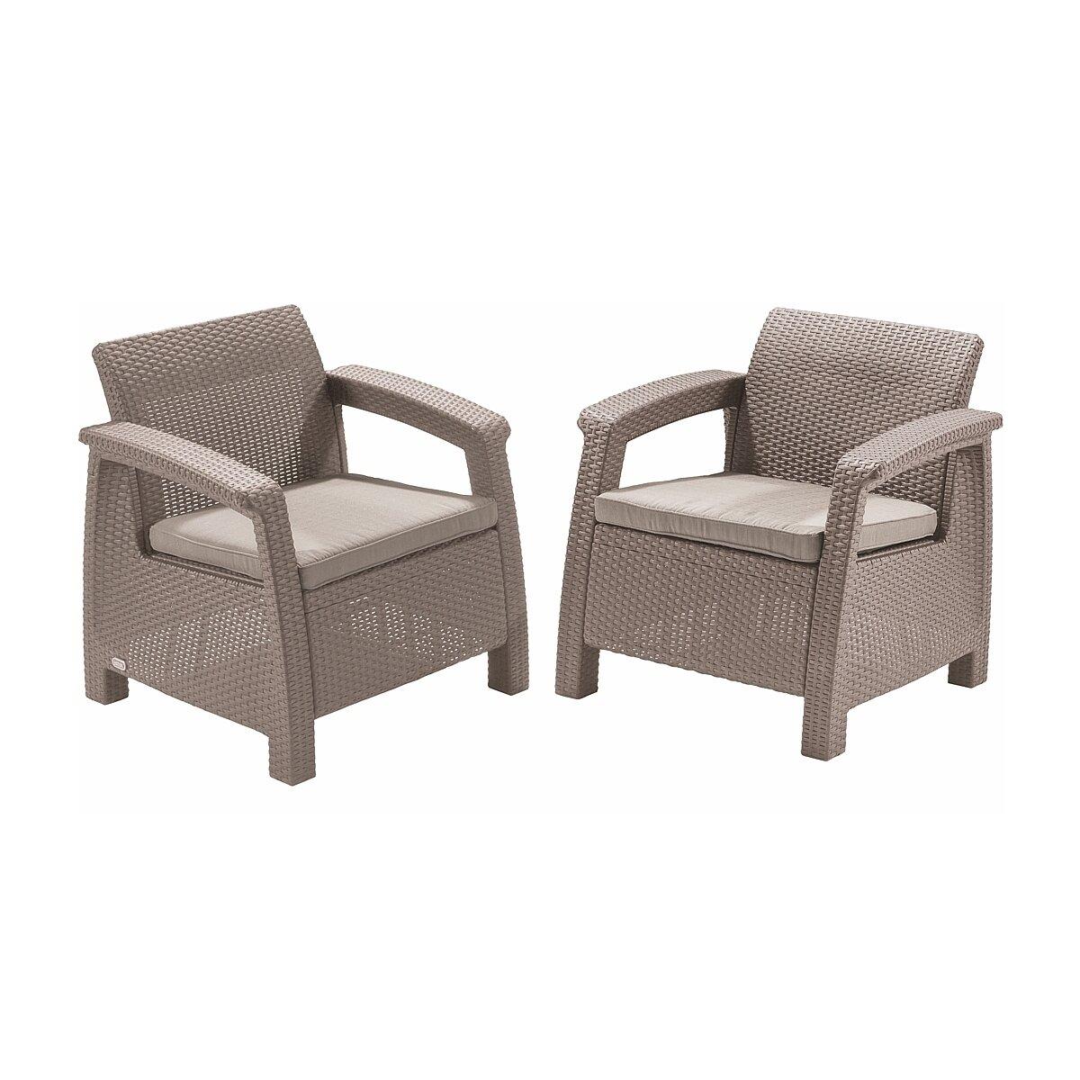 Кресла садовые cappuccino