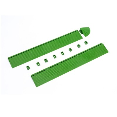 Бордюр зелёный