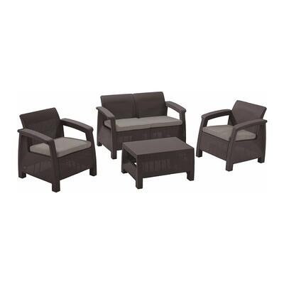 Комплект садовой мебели  brown