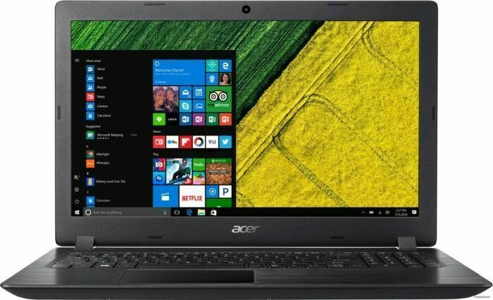 Acer Aspire A315-21G-63ET Black