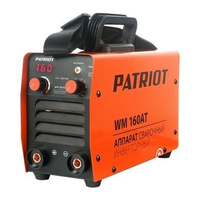 Аппарат сварочный инверторный Patriot WM 160AT MMA