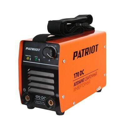 Аппарат сварочный инверторный Patriot 170DC MMA