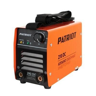 Аппарат сварочный инверторный Patriot 210DC MMA