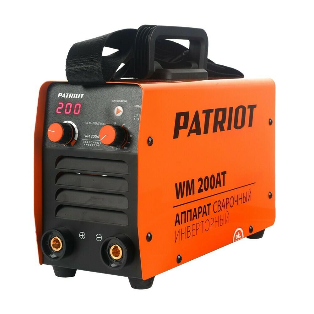Аппарат сварочный инверторный Patriot WM 200AT MMA