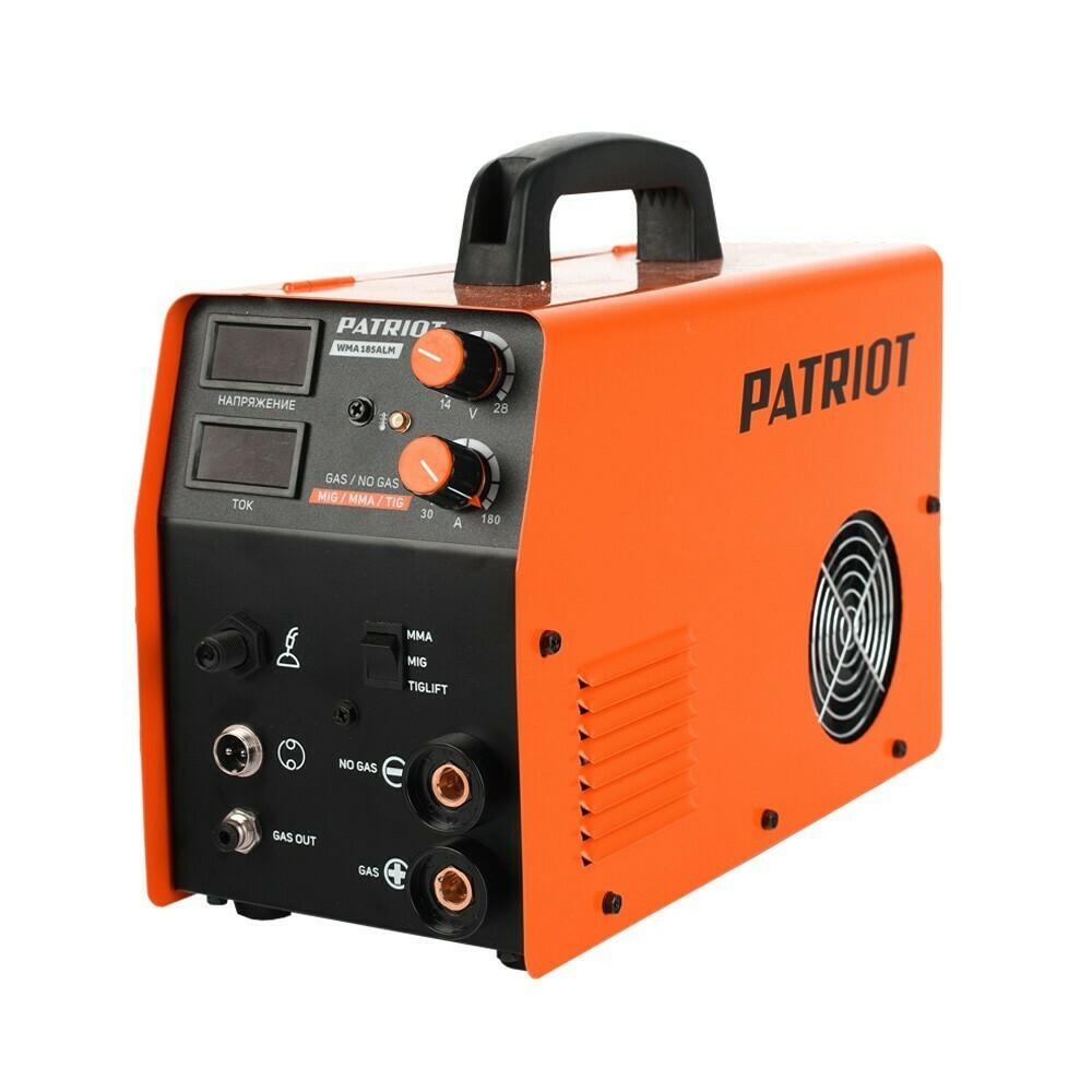 Полуавтомат сварочный инверторный Patriot WMA 185ALM MIG/MAG/MMA
