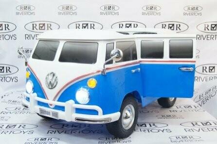 Двухместный электромобиль RiverToys Volkswagen X444XX автобус