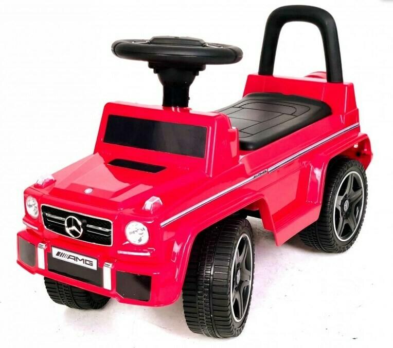 Детский толокар RiverToys Mercedes-Benz G63 JQ663 (лицензионная модель)