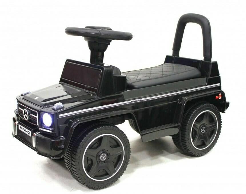 Детский толокар  RiverToys Mercedes-Benz G63 JQ663 VIP (лицензионная модель)