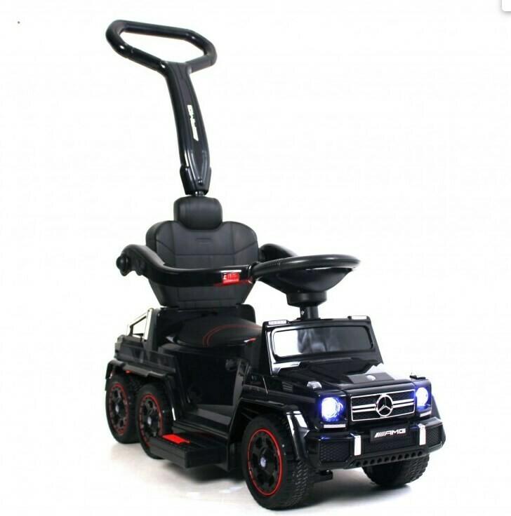 Детский электромобиль-толокар 2в1 RiverToys Mercedes-Benz G63 Гелендваген A010AA-H