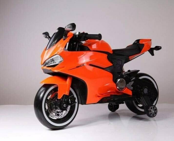 Детский электромотоцикл RiverToys A001AA