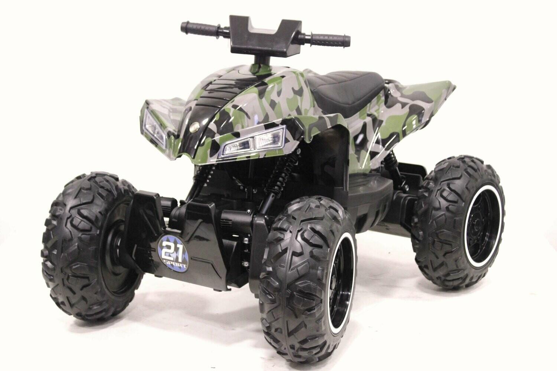 Детский электромобиль Квадроцикл RiverToys T777TT-CAMOUFLAGE   4*4 полный привод