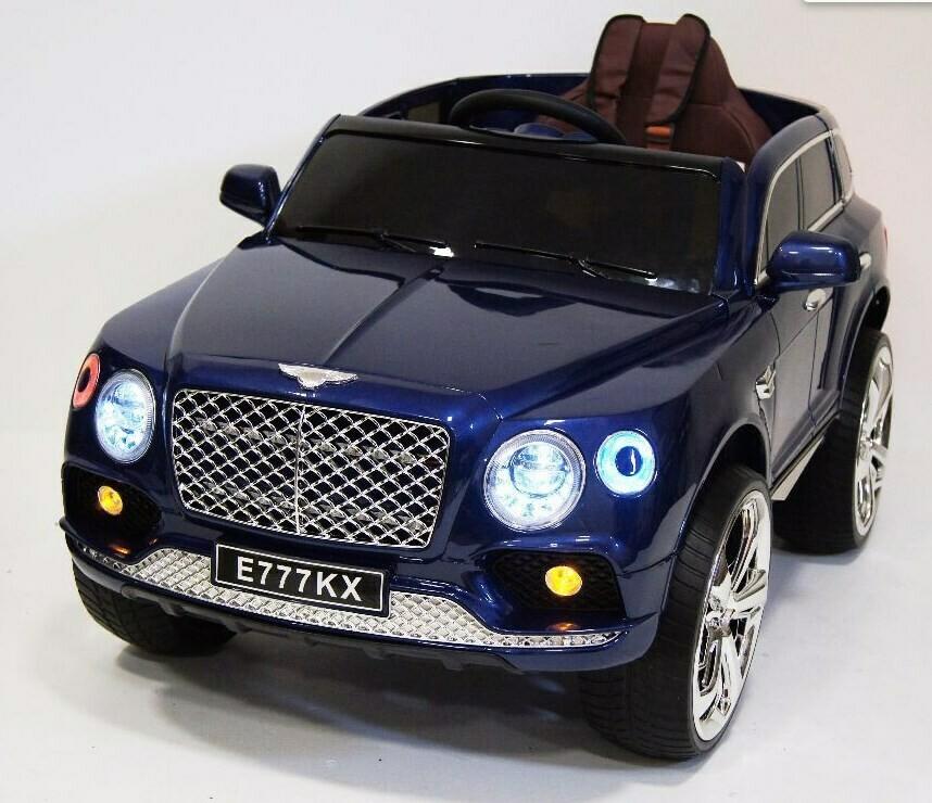 Детский электромобиль RiverToys BENTLEY E777KX с дистанционным управлением