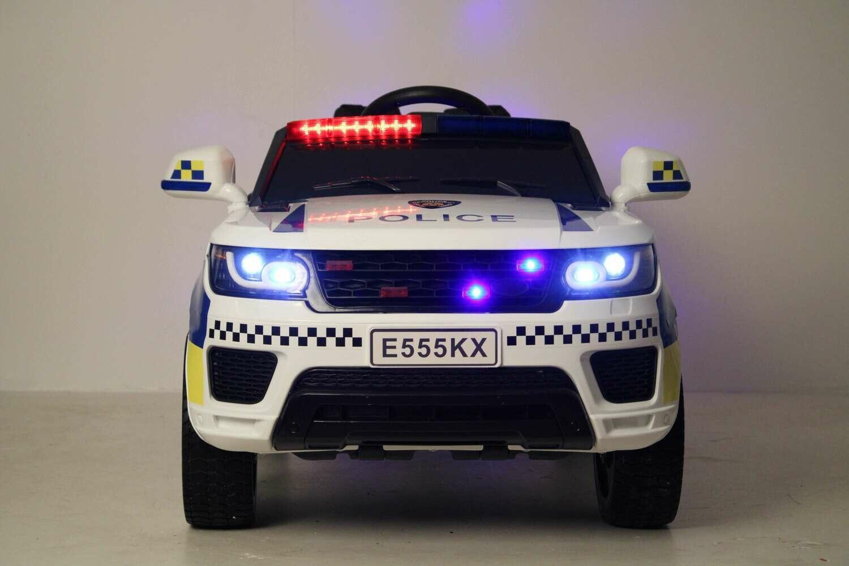 Детский электромобиль RiverToys E555KX. Полиция.