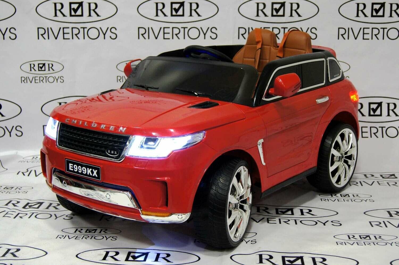 Детский электромобиль RANGE ROVER SPORT E999KX  с дистанционным управлением