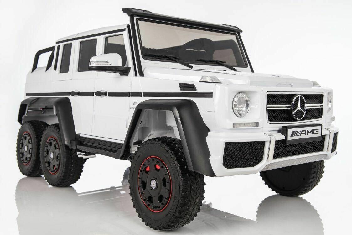 Детский электромобиль Mercedes-Benz G63-AMG 4WD X555XX  с дистанционным управлением