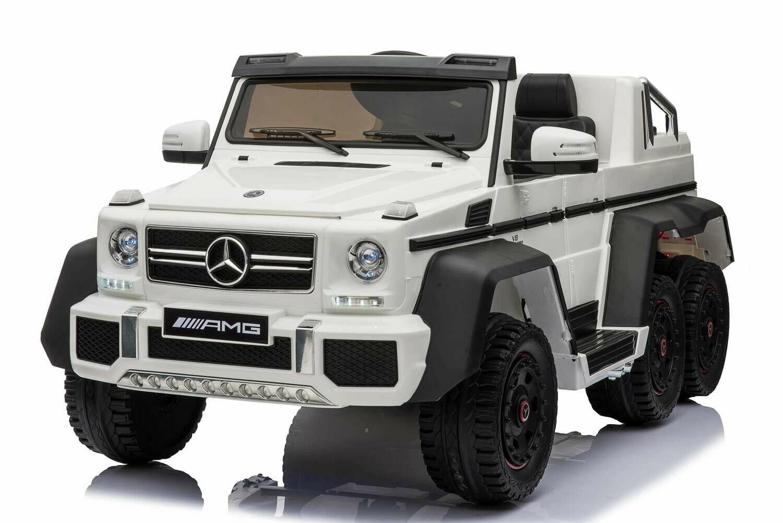 Детский электромобиль Mercedes-Benz G63-AMG 4WD A006AA  с дистанционным управлением