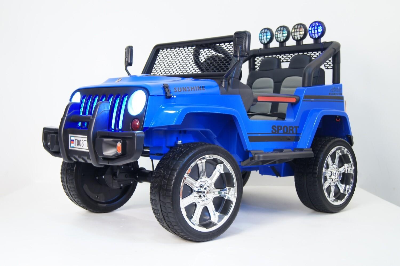Детский электромобиль Jeep T008TT с дистанционным управлением