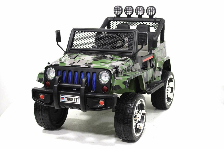 Детский электромобиль Jeep T008TT 4*4 с дистанционным управлением