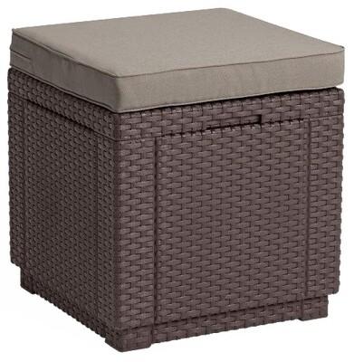 Пуфик Куб с подушкой Cube with cushion