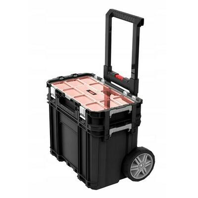 Набор из двух ящиков для инструментов на колёсах Connect Cart + Organizer