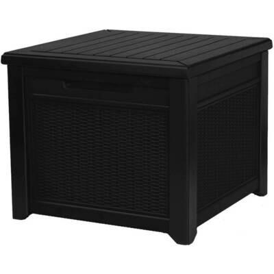 Стол-сундук Cube Rattan