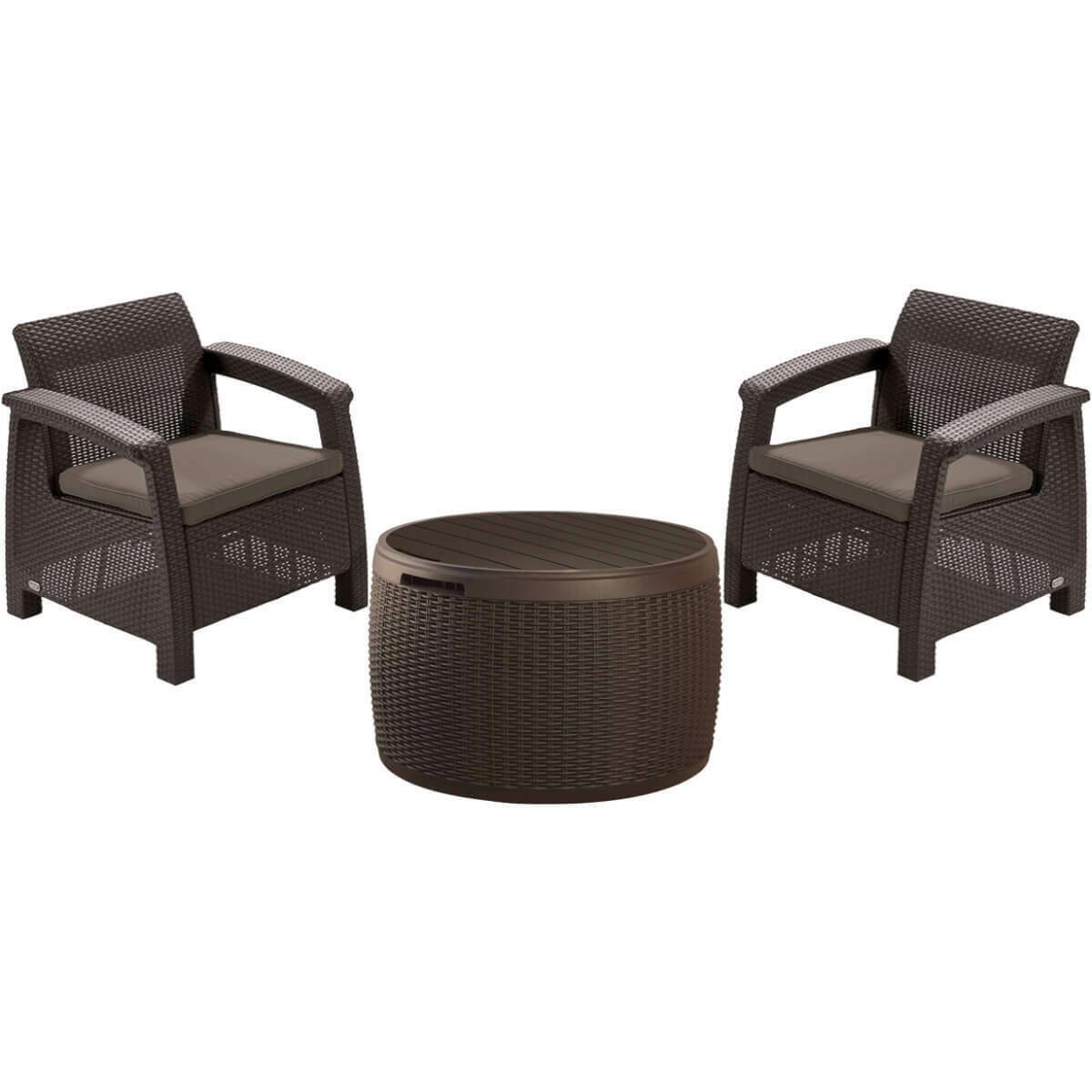 Комплект мебели Corfu Duo + Circa Rattan