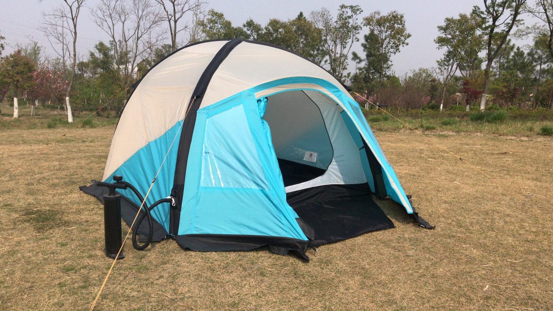Палатка надувная Трехместная