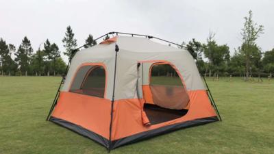 Палатка из стального каркаса Пятиместная