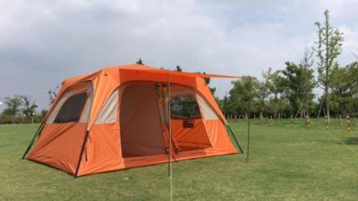 Палатка из стального каркаса Восьмиместная