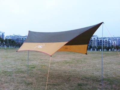Палатка тент из стального каркаса