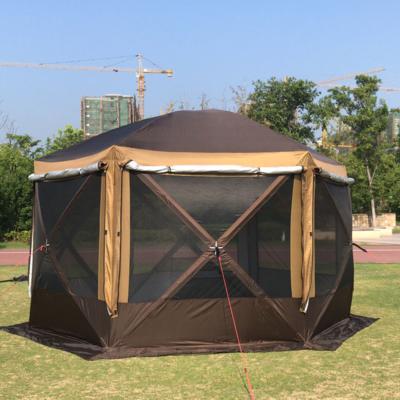 Шатер шестиугольный с одним входом